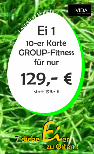 10 x Fitness & Spa - 3 Monate Laufzeit